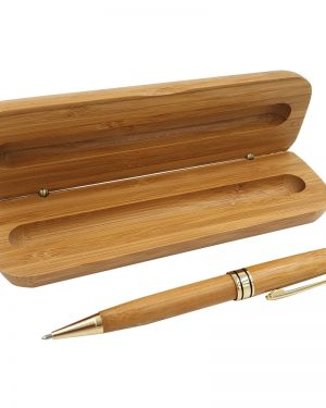 Bamboo Pen with Pencil Gift Set