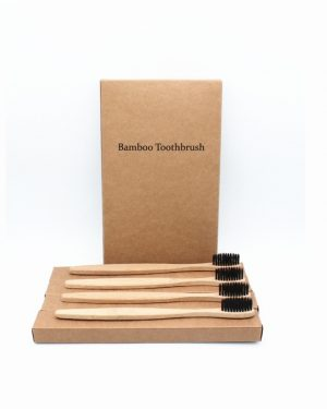 Bamboo Toothbrush Medium Bristles