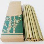 Reusable Bamboo Drinking Straws