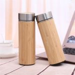 Natural Bamboo Thermos Bottle