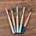 Bamboo Toothbrushes Soft Bristles 5 Pack