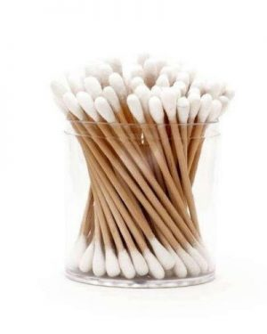 Environmentally Friendly Cotton Buds