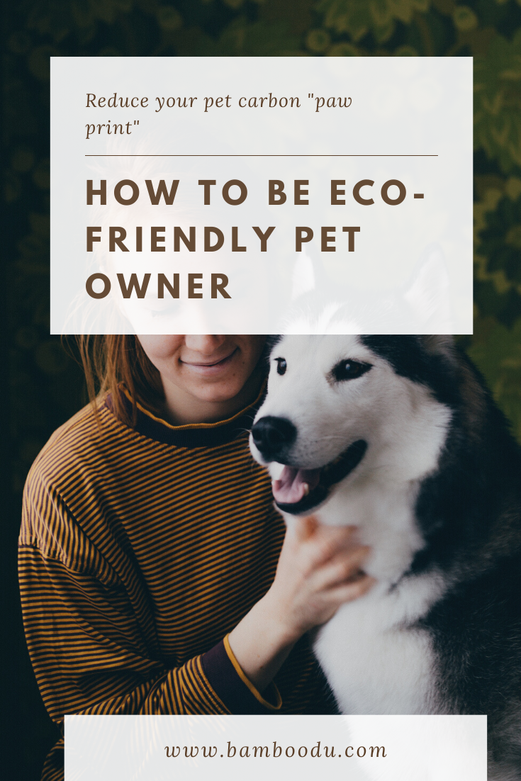 tips for eco-friendly pet owner