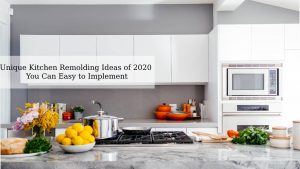 Things to Know Before You Re-design Your Kitchen in the Budget