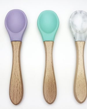 Baby Bamboo Weaning Spoons