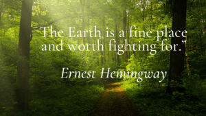 Get inspired to make the world a better – 21 Great  Environmental  Quotes